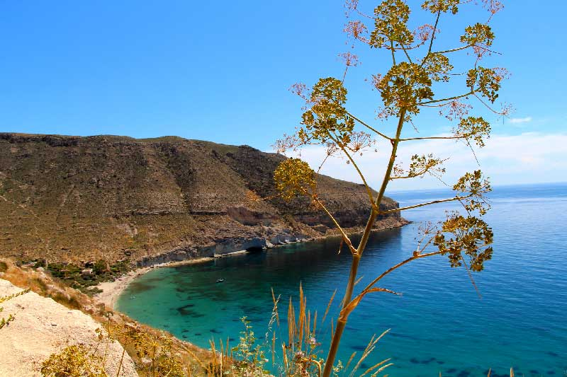 Point de captage de l'eau de mer OdeVie: le parc naturel protégé CABO DE GATA
